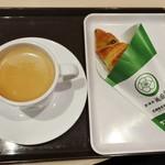 サンマルクカフェ - 珈琲&宇治茶チョコクロ