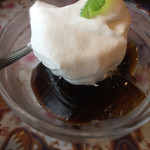 WAIWAI アジアのごはんやさん - デザート(コーヒーゼリーにホイップクリーム)