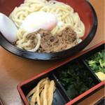 ちから - 肉ぶっかけうどん 温 並(730円)