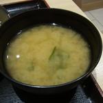 松乃家 - お味噌汁