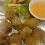 HANOI CORNER DINING BAR - 揚げ春巻き 皿+アルミ箔