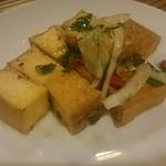HANOI CORNER DINING BAR - 揚げ豆腐のネギ浸し¥380 これが一番美味しかったです