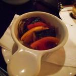 57186802 - 秋刀魚と野菜の重ね焼き
