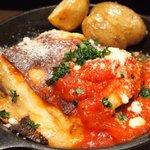 57186897 - ランチセット 1000円 のマグロのトマト煮込みと茄子のラザニア