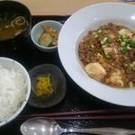キッチンそらら - (20161007) 日替り定食(麻婆豆腐)