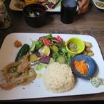 味噌屋 鎌倉 Inoue - せせりの柚子胡椒味噌焼き定食