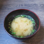 味噌屋 鎌倉 Inoue - 味噌汁アップ