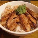 ラーメン 亀一 - チャーシュー丼