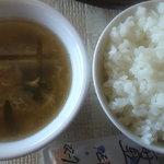5719670 - ご飯とスープ