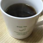 もりなが食堂 - コーヒーサービス(マグカップはグリーンティ笑)