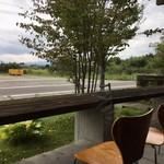 restaurant bio - 外のテラス席
