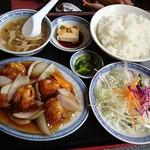 香港料理 吉祥華 - 酢豚定食
