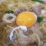 土佐麺処 康 - 玉子