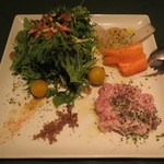 プラチナフィッシュ マルシェ 個室 - 前菜