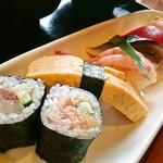 木々亭 - 寿司セットのお寿司