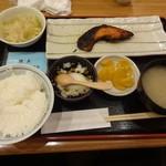 57195740 - 焼魚定食(鮭の西京漬け)