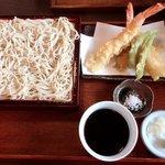 菜実樹 - 天せいろ(1650円)