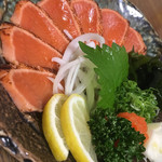 居酒屋 南国 - 鮭のたたき