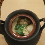 治鮨 - 28年10月 松茸土瓶蒸し