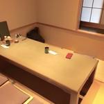 銀座 佐藤養助 - 2人には贅沢な個室でいただきました