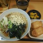 名代 富士そば - 朝食セット ¥320-