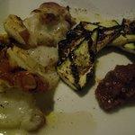 ツクシ - 野菜の網焼き