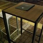 ツクシ - テーブルはオープンなイメージです