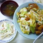 鵬来 - 肉丼 大盛 580円+50円