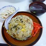 鵬来 - 高菜チャーハン 大盛 580円+50円