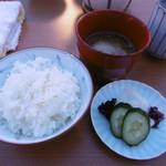 こま井亭 - 食事