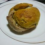 パン工房 ブランジェリーケン - かぼちゃ、クルミ、練乳