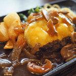MEAT DINING River:Ve - 鉄板ハンバーグランチ
