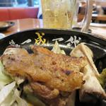 博多 一成一代 - 博多焼鳥の定番・豚足の塩焼きです。
