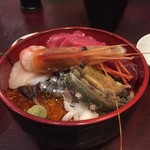57206686 - 2016.10久々の米花・海鮮丼