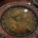 57207148 - スープ、お皿がcute!
