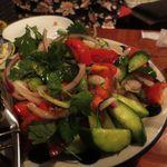 57207149 - トマトのサラダ、モリモリ~!