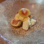 SOGNO - デザート・いちじくとアイスクリーム