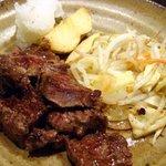 ビストロ鉄彩 - 昼の膳ステーキ 1,000円