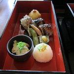 玉ゆら - 卯の花・秋刀魚の焼き物・蓬生麩