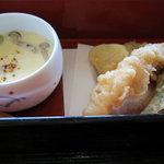 玉ゆら - 茶碗蒸し・天ぷら