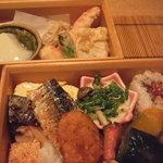 懐食吉田 - 2段弁当  懐食 吉田
