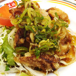 餃子の王将 - 小皿油淋鶏