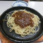 たきの - ミートスパゲッティ(450円)