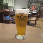 CHAO - ちょい飲みセットの生ビール(300ml)