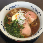 粉哲 - 煮干しラーメン750円