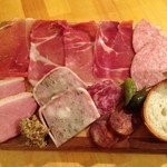 ラビット ピット - 肉の前菜盛合せ