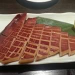 沖ちゃん - 赤いかバターワインソテー(380円)