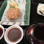 57214633 - 特選ヒレかつ膳(ミニ)1,230円(税込)