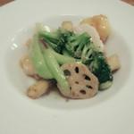 57217257 - 海の幸と季節野菜のXO醤炒め