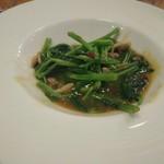 57217258 - 空芯菜のエビ味噌炒め